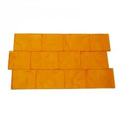 Imitation Belgian cobblestones pattern