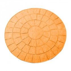Imitation cobblestone circle pattern