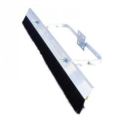 Borstel 122 cm aanpasbaar op glasmachine magnesium