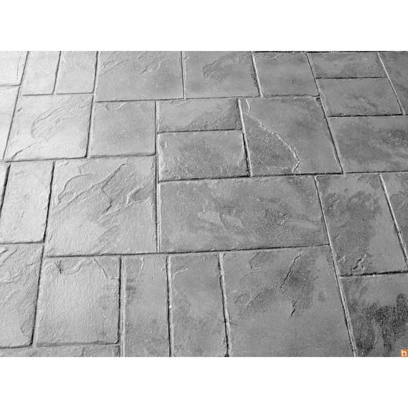 Concrete imprint mould opus romano harmony b ton for Carrelage opus romain