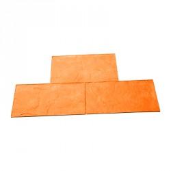 Form platte aus rohem Sandstein