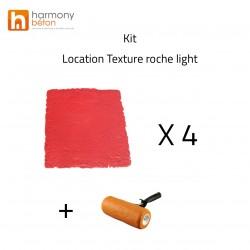 Verhuur Textuur Rock licht