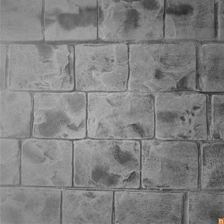 Imprinted concrete kit - Belgian cobblestones
