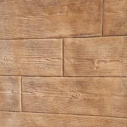 Kit beton-fußabdruck Holz-optik-klinge 25 cm