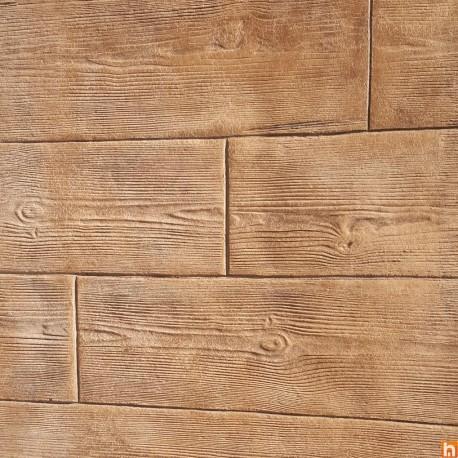 Imprinted concrete kit - Wood