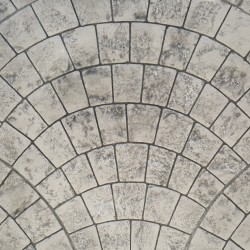 Bedrukt beton set - Appian Cobblestone
