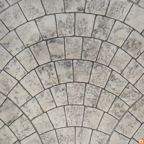 Imprinted concrete kit - Appian Cobblestone