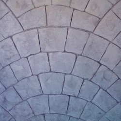 Bedrukt beton set - Parijse bestrating
