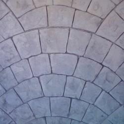 Zestaw do betonu wyciskanego - Paryskiej brukowej