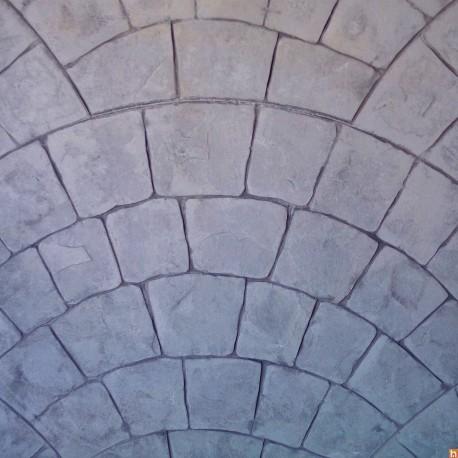 Imprinted concrete kit - Parisian Cobblestones