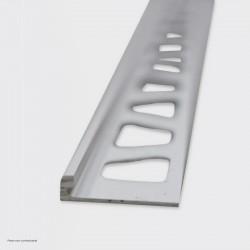 Joint d'arrêt 2 mm pour béton ciré. L 100 cm