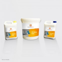 Kit polished concrete screed anhydrite