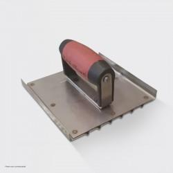 Plat ijzer-en-groef roestvrij staal