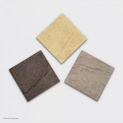 Échantillon Béton imprimé marron clair