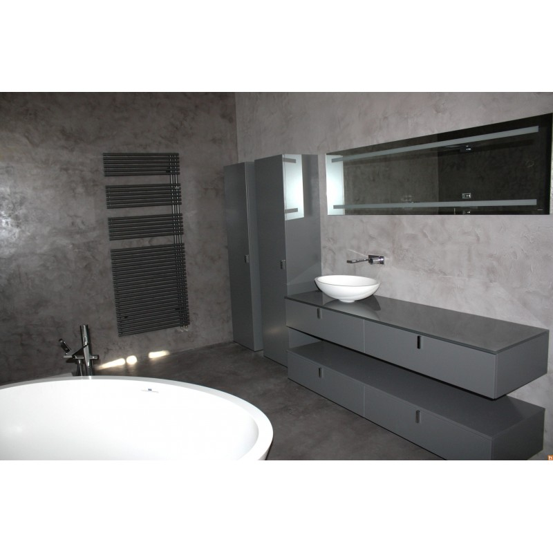 beton cire douche la salle de bains sols douche italienne b ton cir r novation douche. Black Bedroom Furniture Sets. Home Design Ideas