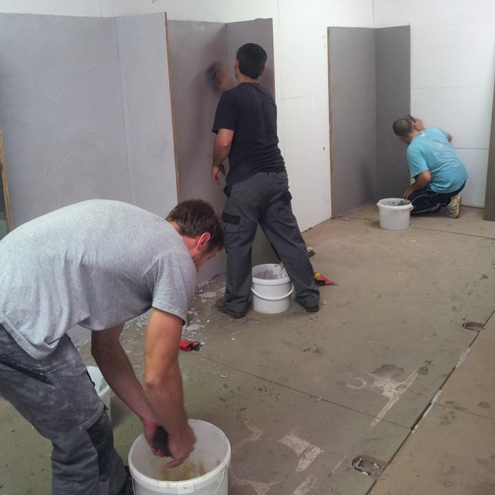 Training f r gewachsten beton und glattbeton - Haftgrund fur fliesen ...
