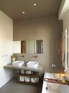Le beton ciré dans une salle de bain | Blog Harmony Béton