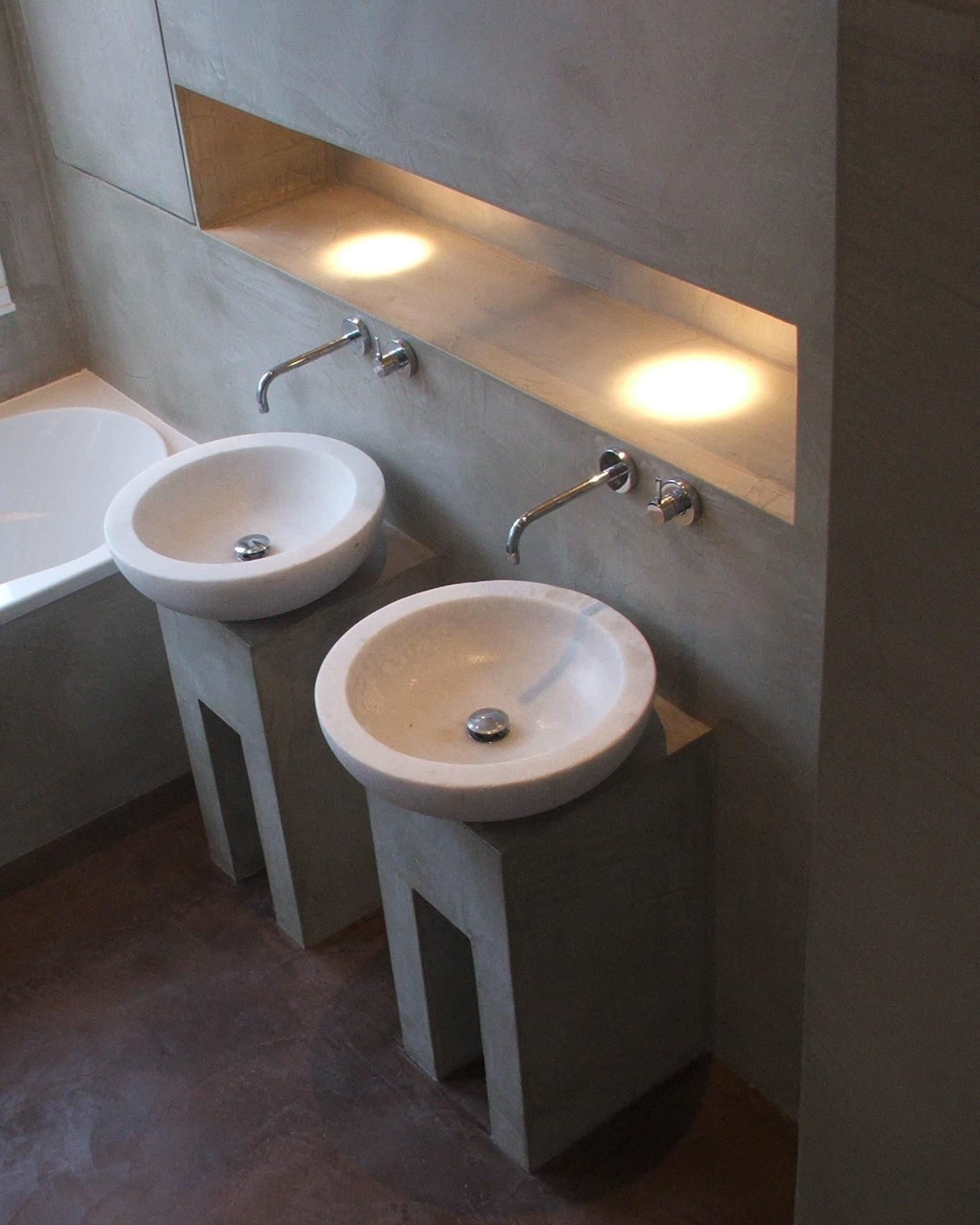sol de salle de bain en beton cir conseils harmony b ton. Black Bedroom Furniture Sets. Home Design Ideas