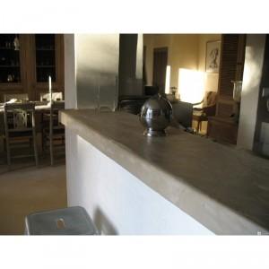 Kit beton cire cuisine plan de travail