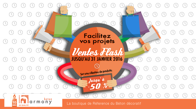 Ventes Flash janvier 2016