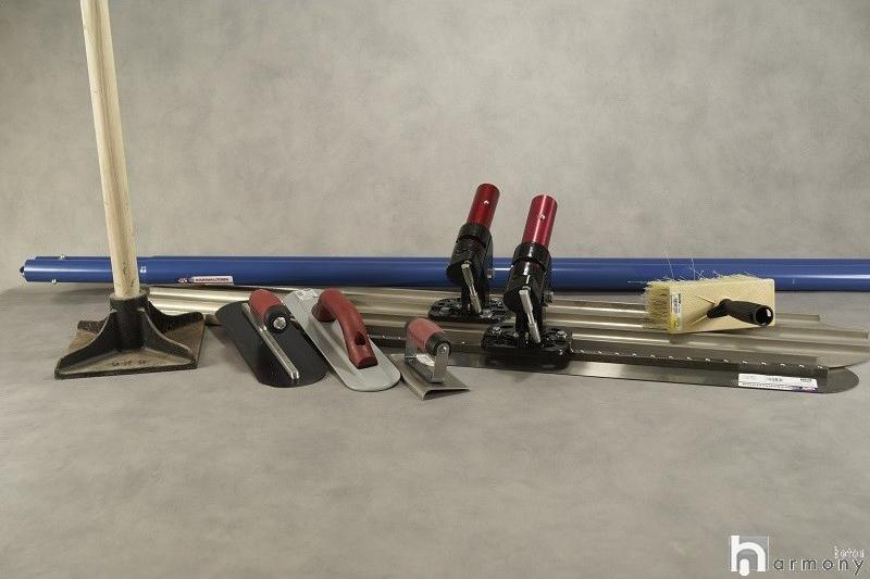Kit outils béton imprimé