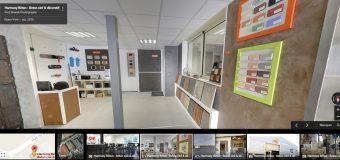 Une visite de nos locaux à 360° avec Google Business View
