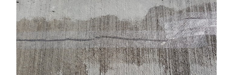 Reparatie van een scheur
