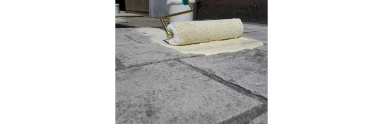 Renovierung einer beton