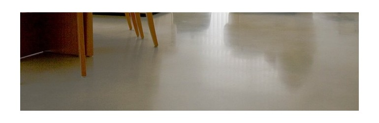 Polished concrete (self-levelling)