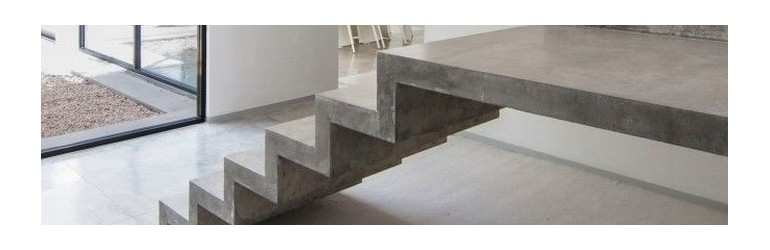 Waxed Concrete Stairway Kits