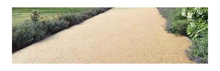 Draining concrete - Stone carpet