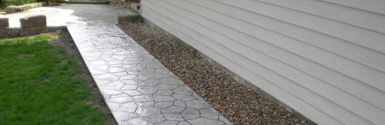 Kits printbeton of gefigureerd beton