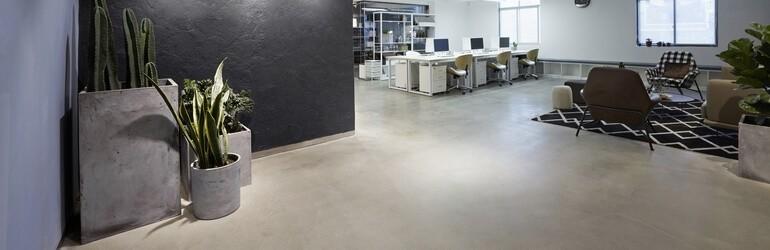Sets beton für den innenbereich