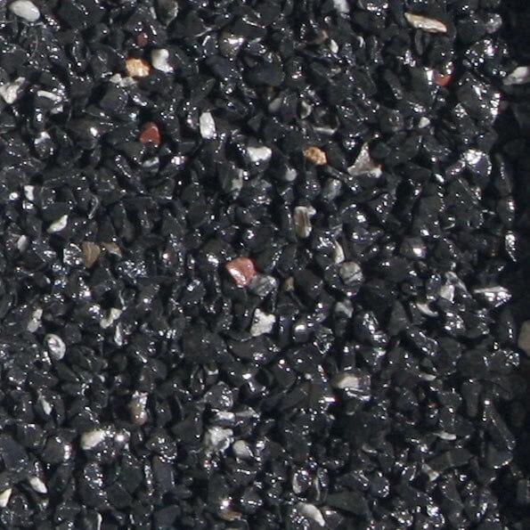 Granulat b ton drainant en sac harmony beton - Couleur noir bleute ...